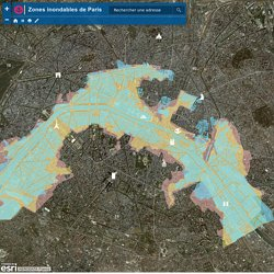 Zones inondables de Paris