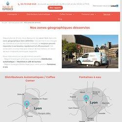 Nos zones de services - Saveur Express'O