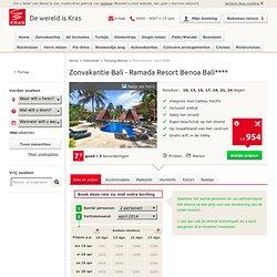 Zonvakantie Bali - Ramada Resort Benoa Bali - KRAS.NL