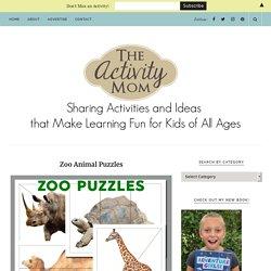 Zoo Animal Puzzles