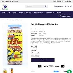 Zoo Med Large Red Shrimp 5oz – Kwik Retail LLC
