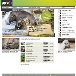 Tierlexikon von Zoo Zürich