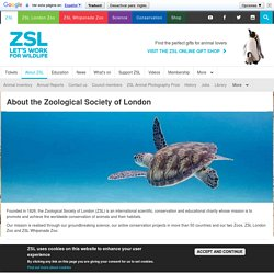 Zoological Society of London (ZSL)
