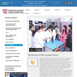 Best Msc Zoology Colleges India