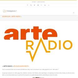 """Zoom sur """"Arte Radio"""" en classe de FLE"""