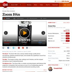 Zoom H4n review