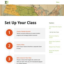 Zoom In - Set Up Your Class