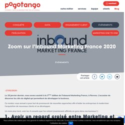 Zoom sur l'Inbound Marketing France 2020