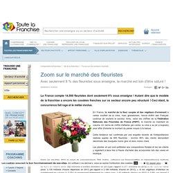 Zoom sur le marché des fleuristes