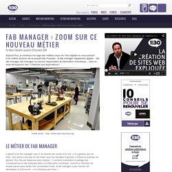Zoom sur : métier de Fab Manager