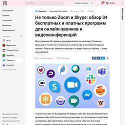 Не только Zoom и Skype: обзор 34 бесплатных и платных программ для онлайн-звонков и видеоконференций — Сервисы на vc.ru
