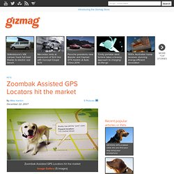Zoombak Assisted GPS Locators hit the market