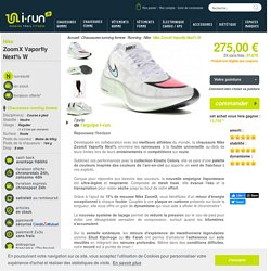 Nike ZoomX Vaporfly Next% W femme Blanc