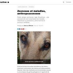 Zoonoses et maladies, anthropozoonoses