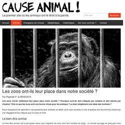 Les zoos ont-ils leur place dans notre société ?