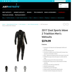 Zoot Sports Men's Wave 2 Triathlon Wetsuit