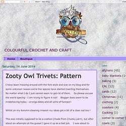 Owl Trivet Pattern