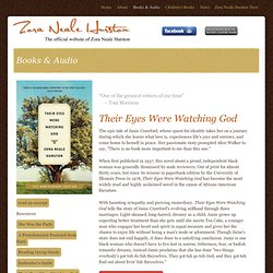Zora Neale Hurston - Books & Audio