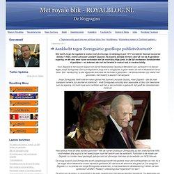 Met royale blik - ROYALBLOG.NL: Aanklacht tegen Zorreguieta: goedkope publiciteitsstunt?