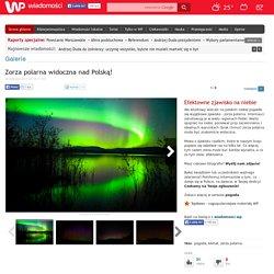 Zorza polarna widoczna nad Polską!