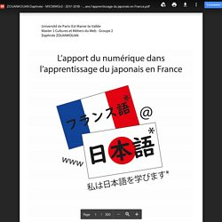 ZOUANKOUAN Daphnée - M1CMWGr2 - 2017-2018 - L'apport du numérique dans l'apprentissage du japonais en France.pdf