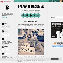 50+ zseniális eszköz - Personal Branding