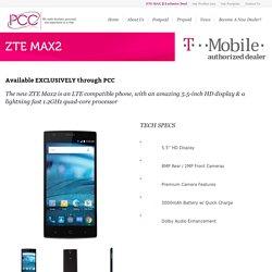 ZTE MAX2 - PCC Wireless