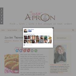 Zucchini Parmesan Bites - Sugar Apron
