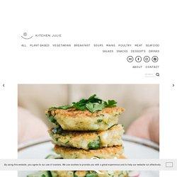 Quinoa Zucchini Patties with Feta — kitchenJulie