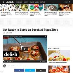 Zucchini Pizza Bites - Zucchini Pizza