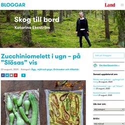"""Zucchiniomelett i ugn - på """"Slösas"""" vis"""