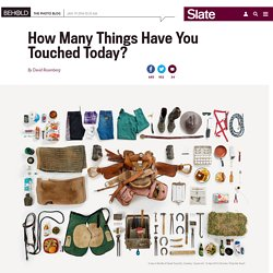 Paula Zuccotti documents the things people touch in a day.