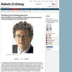 Kultur: Züchtung des Heideggerianers