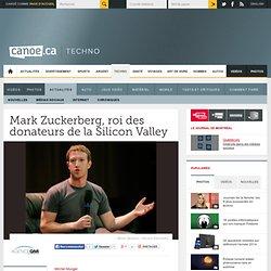 Éducation et santé - Mark Zuckerberg, roi des donateurs de la Silicon Valley