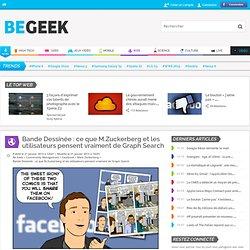 Bande Dessinée : ce que M.Zuckerberg et les utilisateurs pensent vraiment de Graph Search