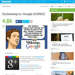 Zuckerberg vs. Google [COMIC]