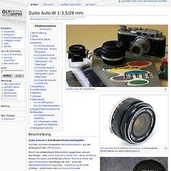 Zuiko Auto-W 1:3,5/28 mm - olypedia.de