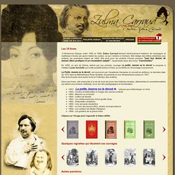 Zulma Carraud - Zulma CARRAUD amie de BALZAC
