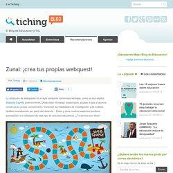 Zunal: ¡crea tus propias webquest!