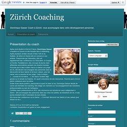 Zürich Coaching: Présentation du coach