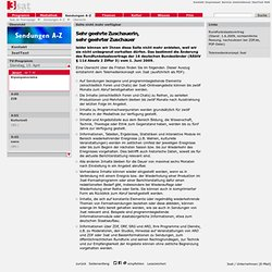 Jammern ist ungesund - Hans Magnus Enzensberger im Gespräch mit Katja Gasser