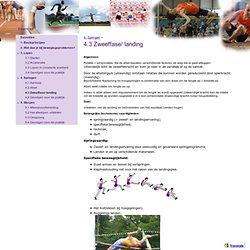 4.3 Zweeffase/ landing - Atletiektechniek