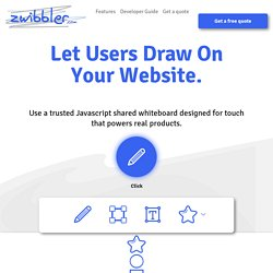 Zwibbler - Quickly scribble your ideas online