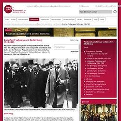 Zwischen Festigung und Gefährdung 1924 - 1929 - Der Untergang der Weimarer Republik