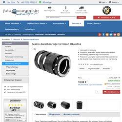 Makro-Zwischenringe für Nikon Objektive
