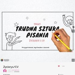 Zyciorys/CV by lazarekagnieszka on Genially