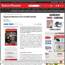 Zygmunt Bauman et la société liquide