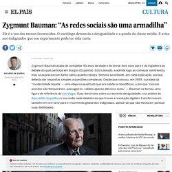 """Zygmunt Bauman: """"As redes sociais são uma armadilha"""""""