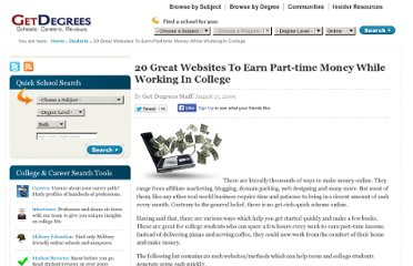 http://www.getdegrees.com/students/20-great-websites-to-earn-part-time-money-while-working-in-college/