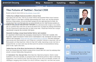 http://www.web-strategist.com/blog/2009/03/22/the-future-of-twitter-social-crm/
